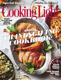 cooking light magazine november 2016 special issue the