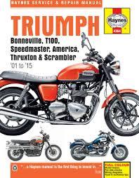 haynes m4364 repair manual for triumph bonneville t100