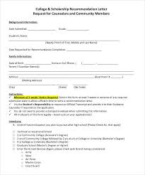 letters of recommendation for scholarship 26 free sample