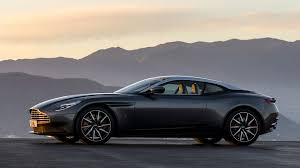 aston martin blacked out shape aston martin db11