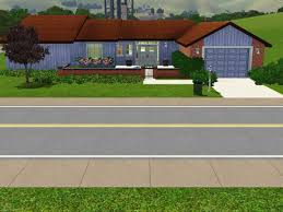 mod the sims 1950 u0027s style family home