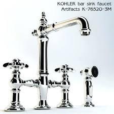 kohler vinnata kitchen faucet kohler artifacts kitchen faucet kohler artifacts bridge kitchen