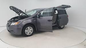 van honda pre owned 2015 honda odyssey 5dr lx mini van passenger in