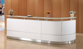 Office Front Desk Reception Desk Lobby Counter Front Table With Regard To Modern