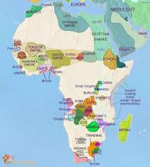 africa map before colonization map of africa at 1871ad timemaps