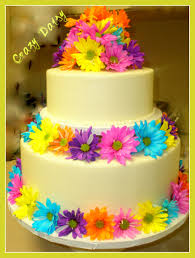 crazy daisy 2 tier cake 12 u0027 8 u0027 top tier carrot cake bottom