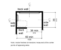 Floor Plans For Bathrooms With Walk In Shower Americans With Disabilities Ada Guidelines For The Bathroom