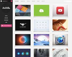 dribbble dribbble redesign by janvanlysebettens on deviantart