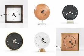 modern desk clock amazing of mid century modern desk clock george nelson table for