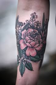 womens forearm floral sleeve tattoo google search tattoo ideas