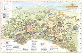 Michoacan Map Ranch Map Rancho La Puerta