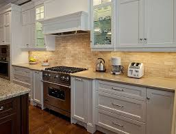 glass kitchen backsplash tiles the kitchen back wall of ceramic tile backsplash home design and