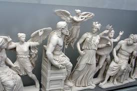 greek gods statues the twelve olympians greek gods goddesses