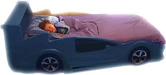 Blue Car Bed Nascar Race Car Bed Make It With Jason