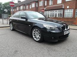 2007 bmw 520d m sport used 2007 bmw 5 series 2 0 520d m sport 4dr for sale in