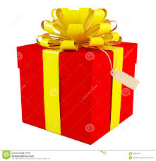 big present bow big gift box royalty free stock images image 34607019