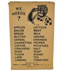 avid vintage vintage collectibles vintage black americana kitchen reminder board mammy wood peg board