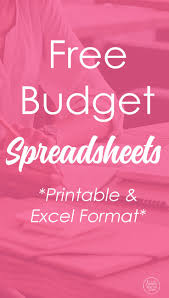 Download Budget Spreadsheet by Budget Spreadsheet Bacon Budget Spreadsheet And Printables