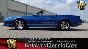 1989 chevy camaro iroc 1989 chevrolet camaro iroc z convertible stock 852 tpa