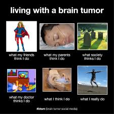 Tumor Meme - what i really do living with a brain tumor the liz army
