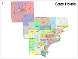 A Map Of Michigan by Redistricting In Michigan New Political Maps From The Michigan