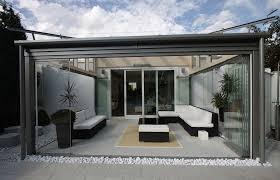 verre pour veranda véranda acier alu et bois