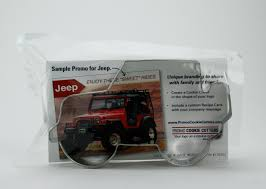 jeep custom promo cookie cutters jeep custom cookie cutter