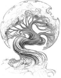 asian tree tattoo asian oak tree tattoo sketch tattoo ideas