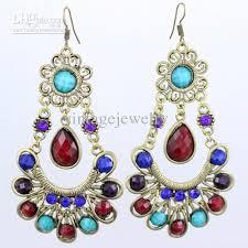 beautiful earrings fancy beautiful earrings bohemian retro fashion jewelry lm e106