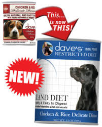 dave u0027s restricted diet bland chicken and rice dave u0027s pet food