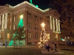 Austin Texas Christmas Lights by The Schramm Journey Georgetown Texas