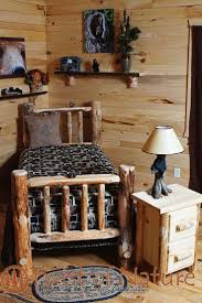 Wooden Log Beds Best 10 Log Bed Frame Ideas On Pinterest Log Bed Timber Bed