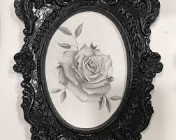 rose sketch etsy