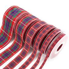tartan ribbon tartan ribbon handfasting ribbon scotlandshop