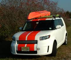 scion box car yakima roof rack installed scion xb forum