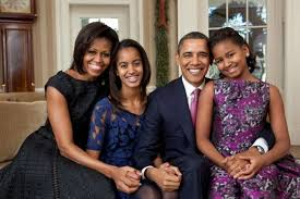smiles style season s greetings in 2011 obama family portrait