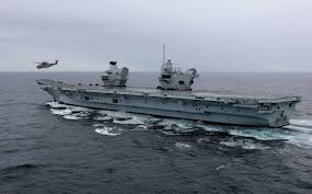 Queen Elizabeth Ii Ship by Hms Queen Elizabeth On Board The Royal Navy U0027s New Warship In