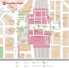 hakata station map japan station pinterest japan