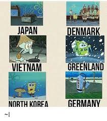 Denmark Meme - denmark japan vietnam greenland north korea germany l meme on me me