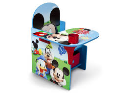 Childrens Desk Accessories by Mickey Mouse Chair Desk With Storage Bin Delta Children U0027s Products