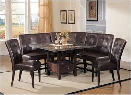 dining room black leather chairs small dining tables on