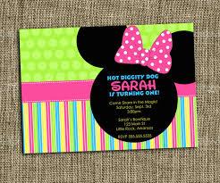 free printable minnie mouse party invitations cloudinvitation com