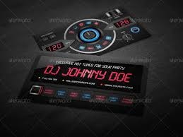 Business Card Music Dj Business Card Template By Vinyljunkie Graphicriver