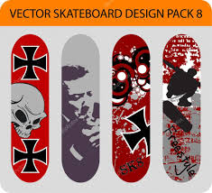 Skateboard Design Pack 8 U2014 Stock Vector Alexciopata 5537013