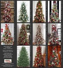 shop more than 50 themed trees vignettes peppermint