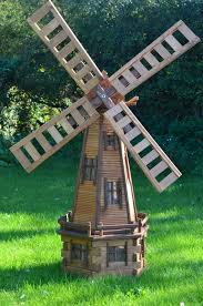 windmill yard decoration iron