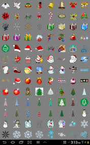 christmas stickers doodle text android apps on google play
