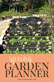 Vegetable Garden Planting Calendar by Garden Planner Spring Planting Guide Five Spot Green Living