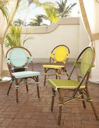 Yellow Bistro Chairs Bistro Chairs In Yellow Set Of Two For Sale Cottage