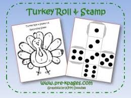 turkey math activities thanksgiving preschool